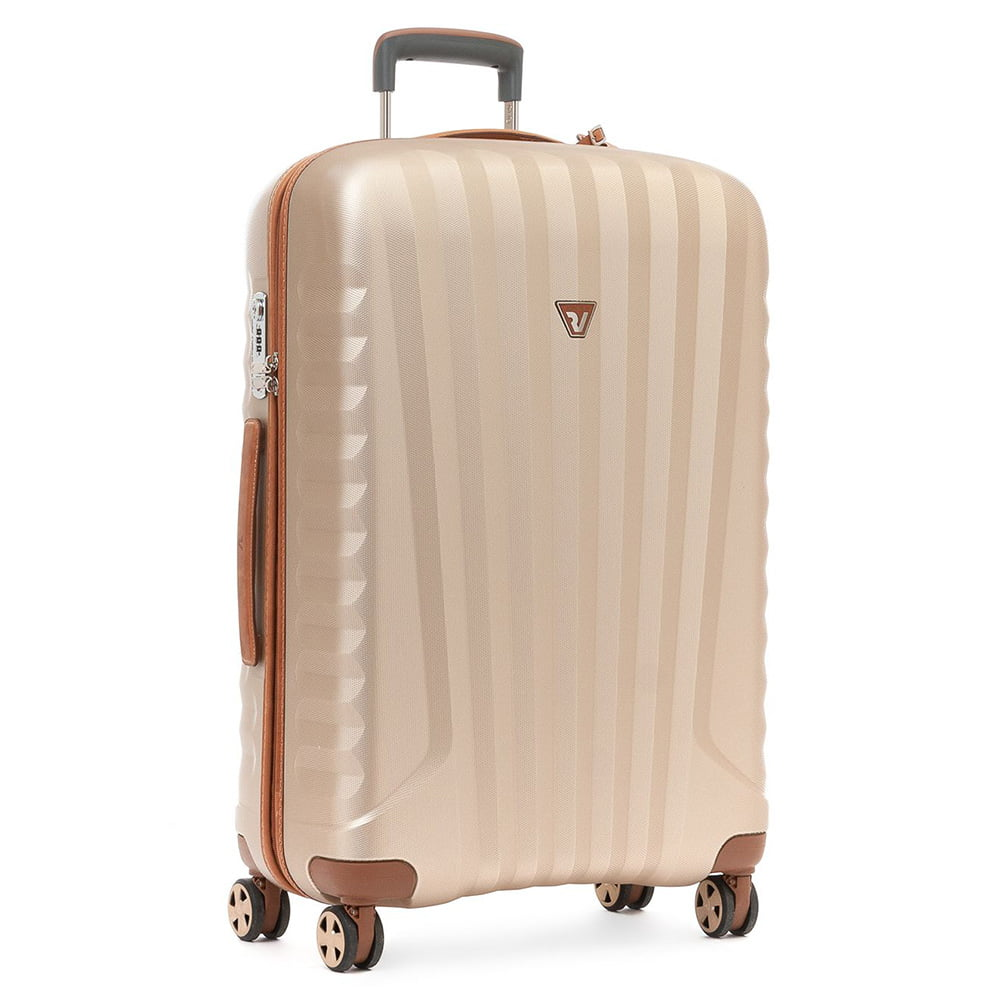 Чемодан Roncato 5222 E-Lite M Trolley 72 см (0426 Brown/Champagne)